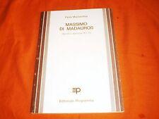 Paolo Mastrandea - Massimo di Madauros agostino epistulae 16 e 17
