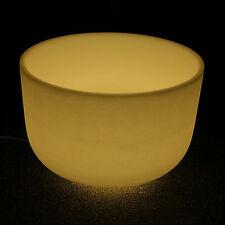 Quartz Singing Bowl Meditation Yellow Light Stand Ring