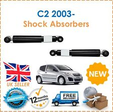 Para Citroen C2 1.1 1.4 1.6 2003-dos amortiguadores de gas trasero Set Par x2 Nuevo