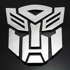 Transformers Autobot 3D Logo Emblem Badge Decal Auto Aufkleber