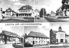 AK, Lauta Kr. Hoyerswerda, fünf Abb., 1983