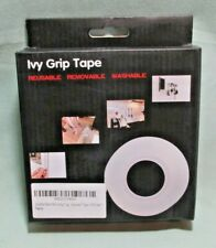 Nano Pu Gel Double Sided Tape, 5M Unite Ivy Grip Washable Adhesive Tape T-19