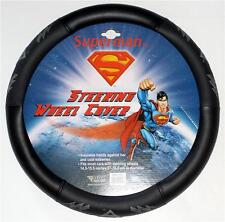 SUPERMAN DC Comics Superhero SHIELD Logo Vinyl CAR STEERING WHEEL COVER New