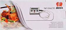 T&T Exacto DIGITALES EINSTICHTHERMOMETER KÜCHENTHERMOMETER Bratenthermometer