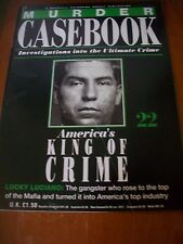 Murder Casebook Magazine No 22- America's King Of Crime- Lucky Luciano