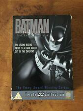 Batman The Animated Series - The Dark Knight Chronicles 3 x disc box set [DVD]