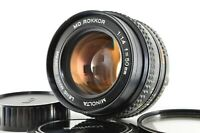 Minolta MD ROKKOR 50mm f1.4 SLR Film Camera Lens [Excellent+++] From JAPAN #1141