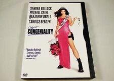 Miss Congeniality DVD Sandra Bullock, Michael Caine, Benjamin Bratt