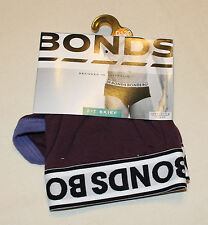 Bonds Mens Grape Purple Coloured Cotton Stretch FIT Brief Size M New
