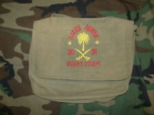 Original Operation Desert Storm Souvenir Embroidered Canvas Handbag 1990-91