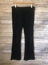 INC International Concepts Lace Pants Women's Size 6 Black