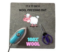 Wool Pressing Mat 17 x 17 inches