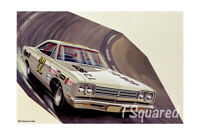 "1969 Road Runner Jo-Han Model Box Art Poster /Print 18"" x 12"" Free US Shipping"