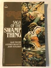 Swamp Thing – First Edition Tpb ('87 Warner Edition) Alan Moore – Vf+