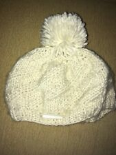 John Rocha Cream Woolly Bobble Knitted Hat