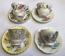 Mix And Match Cups And Saucers Tea Party Floral Royal Albert Paragon Other Makes