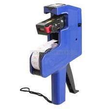 Price Label Tag Marker Line Machine Pricing Gun Labeller Tool MX-5500+Ink Roller