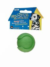 JW Pet iSqueak Bouncin' Baseball Rubber Dog Toy - Small