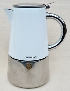 Vintage TYPHOON Coffee Percolator Stove Top Coffee Pot 2 Cup Espresso Moka