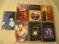NEW AGE CASSETTES - ENYA / ENIGMA / PAUL WINTER / LOREENA MCKENNITT