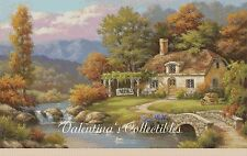 Summer Cottage Scene Counted Cross Stitch Chart No.9-409/12