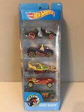 Hot Wheels Street Beasts 5 Car Pack (DVF93) Toy Model Cars