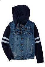 Urban Republic boys hooded jean jacket, Size 4