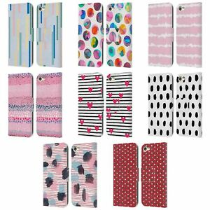 OFFICIAL NINOLA GEOMETRIC 2B LEATHER BOOK WALLET CASE FOR APPLE iPOD TOUCH MP3