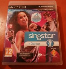 SONY PS3 GAME SINGSTAR + DANCE SING OR DANCE WITH THIS GAME PLAYSTATION 3 12+