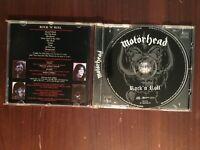 "Motorhead ""Rock 'n' Roll"" CD 1 careful owner CD pristine case shows some wear"