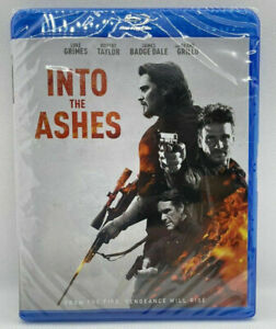 NEW Into The Ashes (Blu-ray, 2019) MOVIE SEALED LUKE GRIMES THRILLER SHOOTER