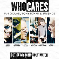Ian Gillan Tony Iommi & Friends Who Cares out of My Mind / Holy Water 2011 CD