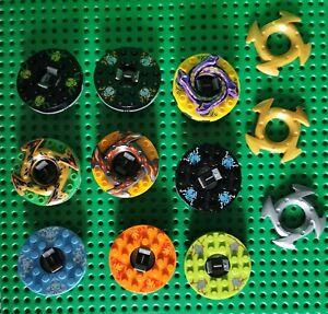 Lego Ninjago Spinner Drehstein Battle Wettkampf Kreisel 9 Stück (32)