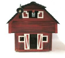 CUSTOM WOOD RED BARN