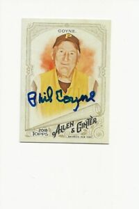 PHIL   COYNE   PITTSBURGH        AUTOGRAPHED    CARD