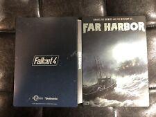 Fallout 4 Far Harbor DLC PS4 Steelbook Case RARE