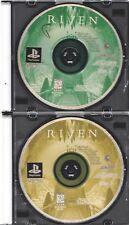 Video Game - Sony Playstation - RIVEN MISSING DISC ONE - Discs Only - Acclaim