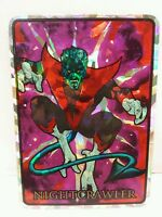 Nightcrawler 1992 Marvel Masterpieces Vending Machine Chase Prism Sticker Card
