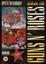 GUNS N ROSES APPETITE FOR DEMOCRACY CD X 2 + DVD NEW