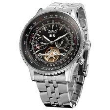 Reloj Pulsera Forsining para Hombres Calendario Automático Tourbillon completa JAG034M4S2