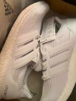 Adidas Size UK 10.5 £140 Ultraboost All White Trainers BB6168 45EU 11US NEW 20