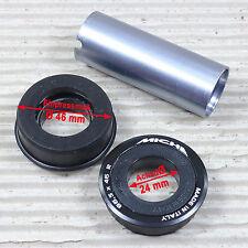 MICHE Innenlager Pressfit 86,5 x 46 mm bei Ø 24mm Achse