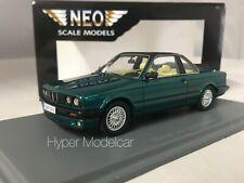 NEO SCALE 1/43 Bmw 325i (E30) Baur Semi-Convertibile Green 1986 Art. NEO43291