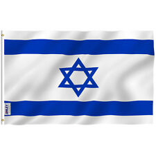 ANLEY Israeli Flag Israel Banner Polyester 3x5 Foot Country Flags