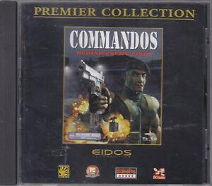 Commandos Behind Enemy Lines   -  PC CD-Rom - JEWEL CASE SEALED