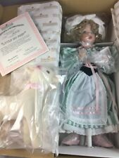 NEW ASHTON DRAKE Little Bo Peep WENDY LAWTON Porcelain Doll Nursury Rhyme 1993