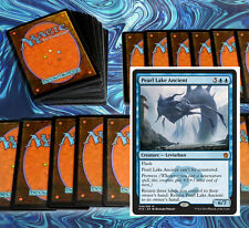 mtg BLUE PROWESS DECK pearl-lake ancient Magic the Gathering rare cards