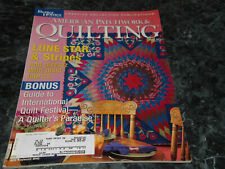 American Patchwork & Quilting Magazine August 2003 Issue 63 Feedsake Patches