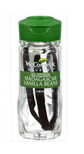 Madagascar Vanilla Beans /McCormick Gourmet / New & Sealed, exp 2023 / Free Ship