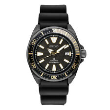 Seiko Men's Prospex Automatic Dive Samurai Rubber Strap Watch with Date SRPB55